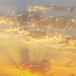 Ciel lumineux